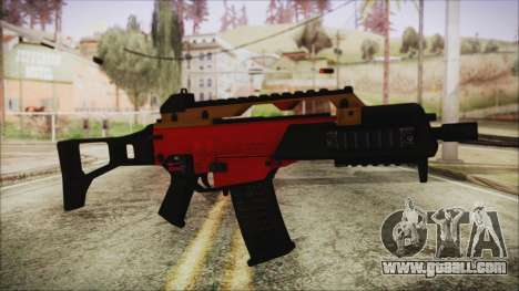 Xmas G36C for GTA San Andreas