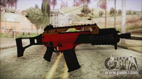 Xmas G36C for GTA San Andreas