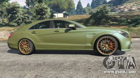 GTA 5 Mercedes-Benz CLS 63 AMG 2015 left side view