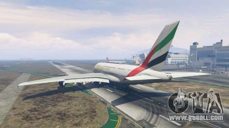 GTA 5 Airbus A380-800 third screenshot