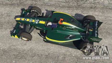 GTA 5 Lotus T127 back view