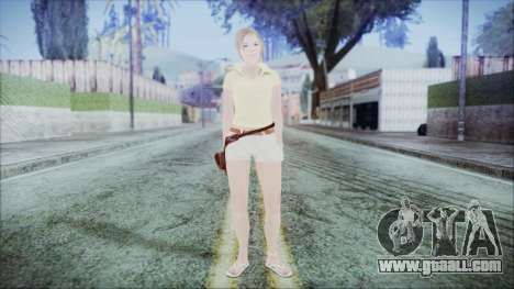 Steph Skin for GTA San Andreas second screenshot