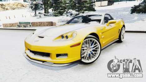 GTA 5 Chevrolet Corvette ZR1 right side view