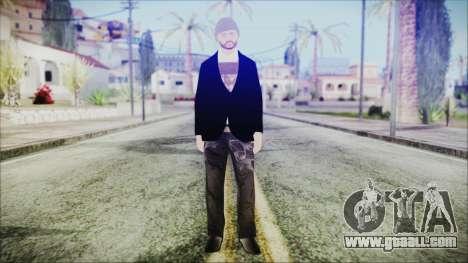 GTA Online Skin 25 for GTA San Andreas second screenshot