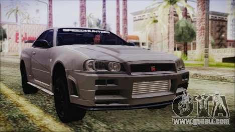 Nissan Skyline Nismo Body Kit for GTA San Andreas