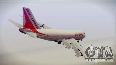 Boeing 747-237Bs Air India Emperor Shahjehan for GTA San Andreas left view