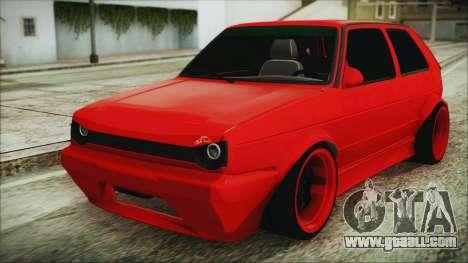 Volkswagen Golf 2 Ghetto Cult for GTA San Andreas