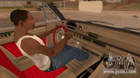 GTA 5 Declasse Clean Voodoo Bobble Version for GTA San Andreas right view