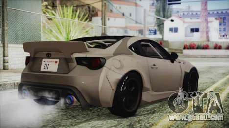 Toyota GT86 Rocket Bunny Tunable HQLM for GTA San Andreas left view