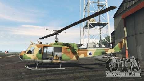GTA 5 Bell UH-1D Israeli Air Force second screenshot