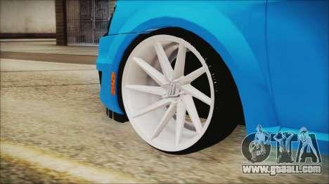 Dacia Logan Cadde Style for GTA San Andreas back left view