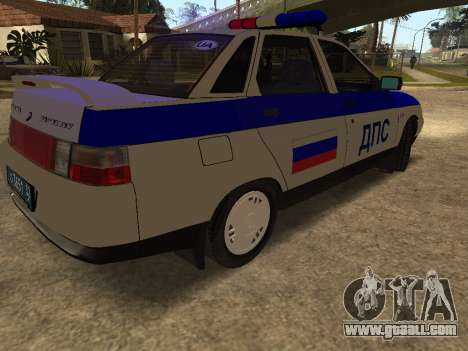 VAZ 2110 DPS for GTA San Andreas right view