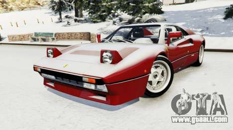 GTA 5 Ferrari 288 GTO 1984 right side view