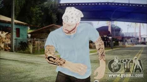 GTA Online Skin 5 for GTA San Andreas