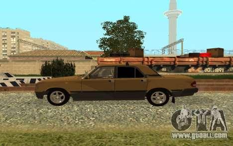 GAZ 3110 Volga for GTA San Andreas left view