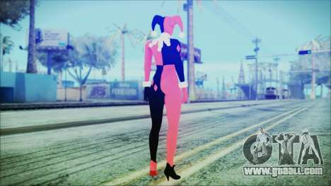 Batman Arkham Knight Harley Quinn Classic for GTA San Andreas third screenshot