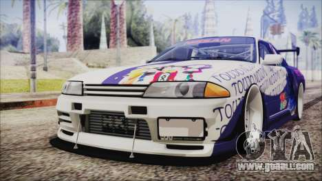 Nissan Skyline R32 Nozomi Toujo Itasha for GTA San Andreas
