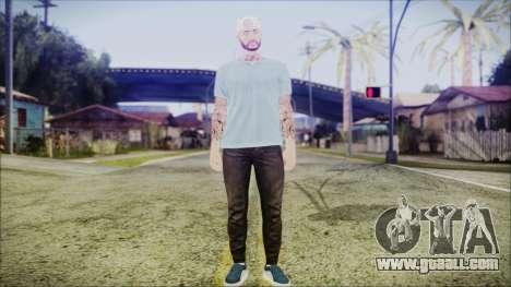 GTA Online Skin 5 for GTA San Andreas second screenshot
