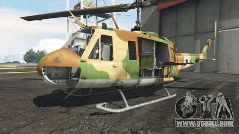 Bell UH-1D Israeli Air Force for GTA 5