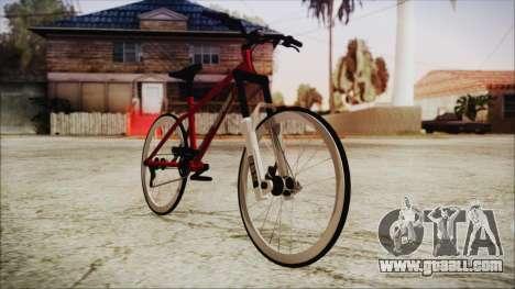 Scorcher Racer Bike for GTA San Andreas back left view
