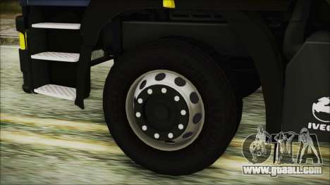 Iveco EuroTech Forest for GTA San Andreas back left view