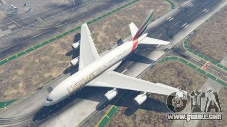 GTA 5 Airbus A380-800 fourth screenshot