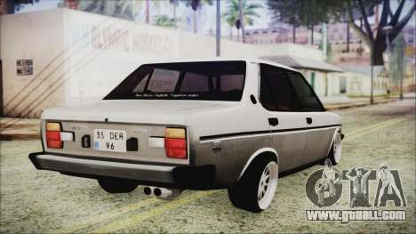 Tofas 131 Mirafiori Edition for GTA San Andreas left view