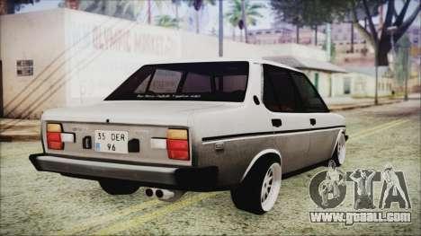 Tofas 131 Mirafiori Edition for GTA San Andreas left view