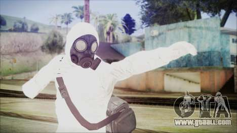 GTA 5 Online The Heist Gasmask Yellow for GTA San Andreas