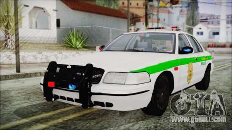 Ford Crown Victoria Miami Dade for GTA San Andreas