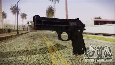 PayDay 2 Bernetti 9 for GTA San Andreas
