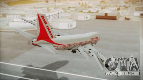 Boeing 747-237Bs Air India Kanishka for GTA San Andreas left view