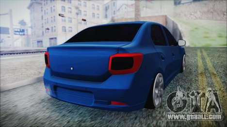 Dacia Logan 2015 for GTA San Andreas left view