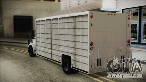 Indonesian Benson Truck In Real Life Version for GTA San Andreas left view