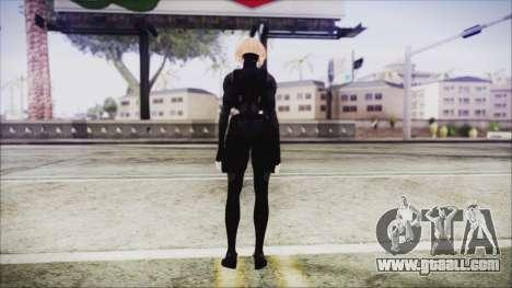 Blonde Domino from Deadpool for GTA San Andreas third screenshot