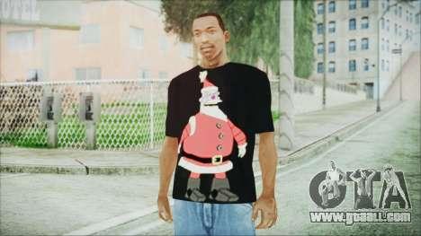 Santa T-Shirt for GTA San Andreas