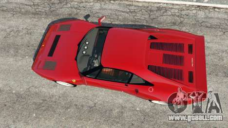 GTA 5 Ferrari 288 GTO 1984 back view