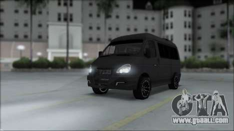 Gas 2217 Luxe for GTA San Andreas