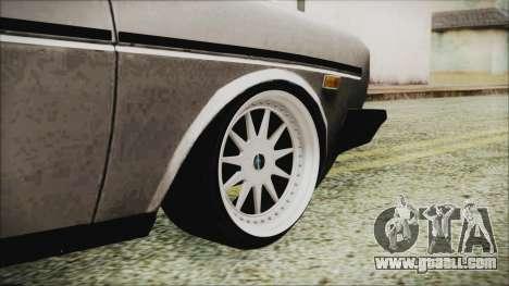 Tofas 131 Mirafiori Edition for GTA San Andreas back left view