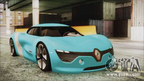 Renault Dezir Concept 2010 v1.0 for GTA San Andreas