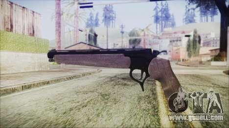 GTA 5 Marksman Pistol - Misterix 4 Weapons for GTA San Andreas second screenshot