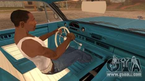 GTA 5 Declasse Clean Voodoo Bobble Version IVF for GTA San Andreas back left view