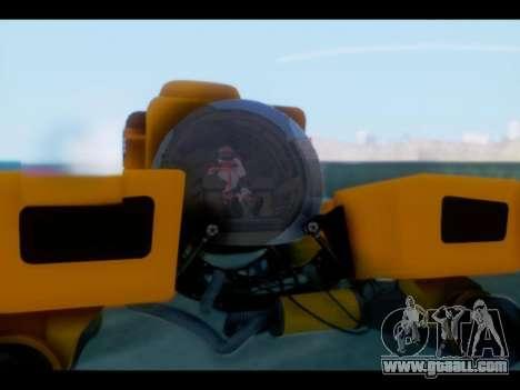 GTA 5 Kraken v1 for GTA San Andreas back left view