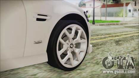 Holden Commodore VE Sportwagon 2012 for GTA San Andreas back left view