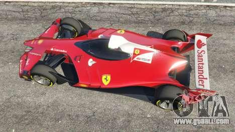 GTA 5 Ferrari F1 Concept back view