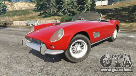 Ferrari 250 California 1957 for GTA 5