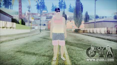 GTA Online Skin 31 for GTA San Andreas second screenshot