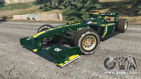 GTA 5 Lotus T127 right side view