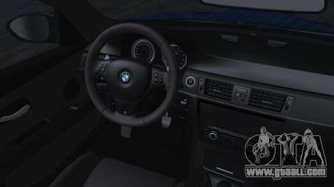 BMW M3 GTS 2011 HQLM for GTA San Andreas right view