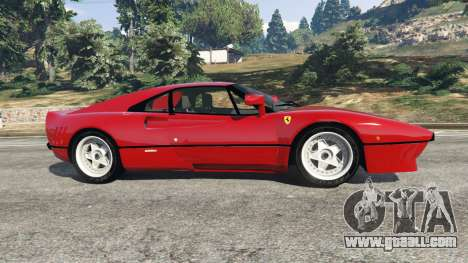 GTA 5 Ferrari 288 GTO 1984 left side view
